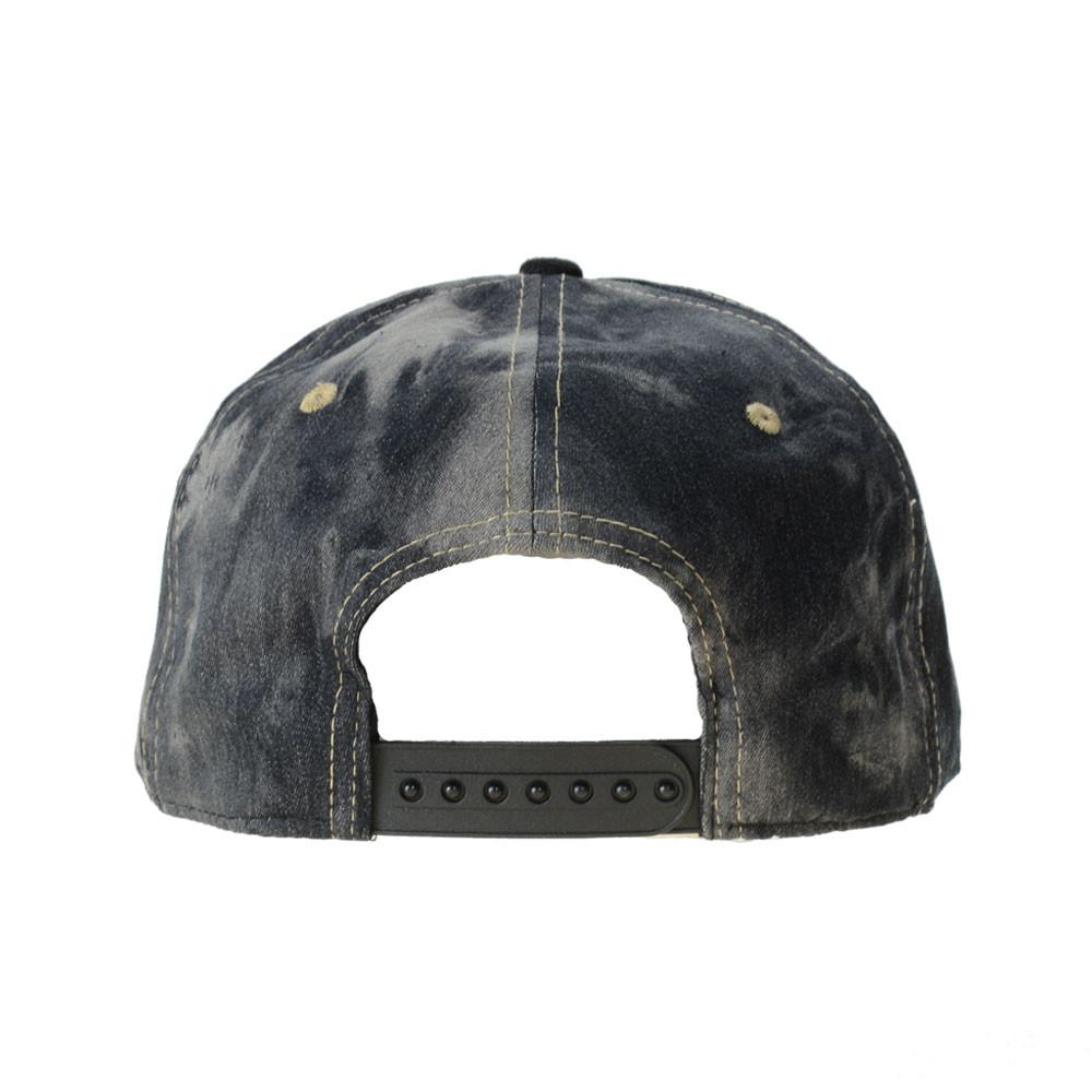 Ghost Glass Shrunken Head Denim Snapback - Grassroots California - 4