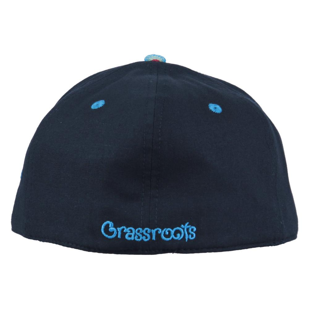 Removable Bear Aqua Andes Black Fitted - Grassroots California - 5