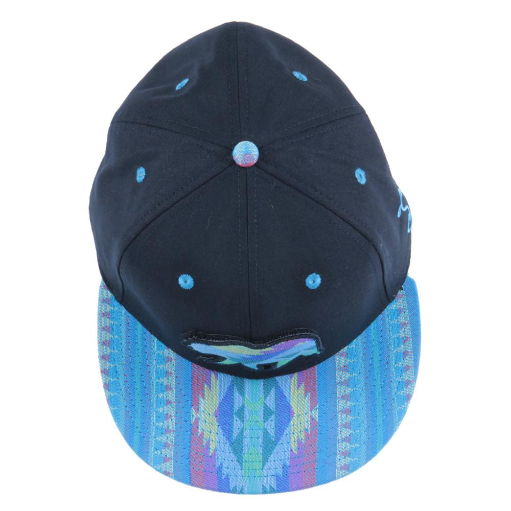 Removable Bear Aqua Andes Black Fitted - Grassroots California - 6