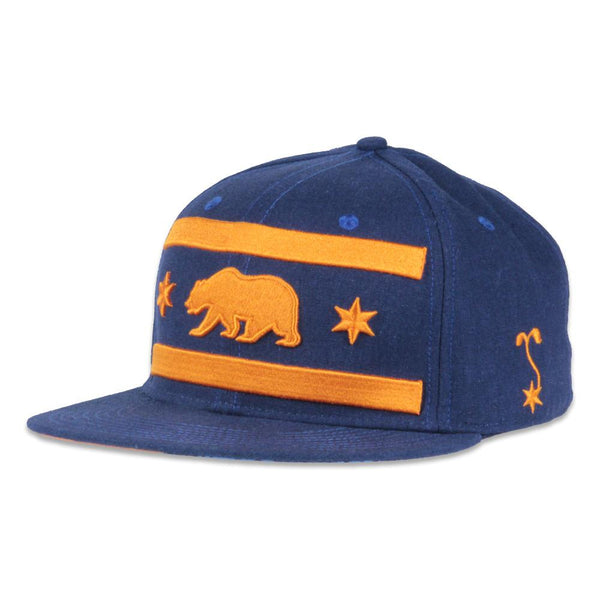 Chi Bears 2016 Navy Fitted - Grassroots California - 1