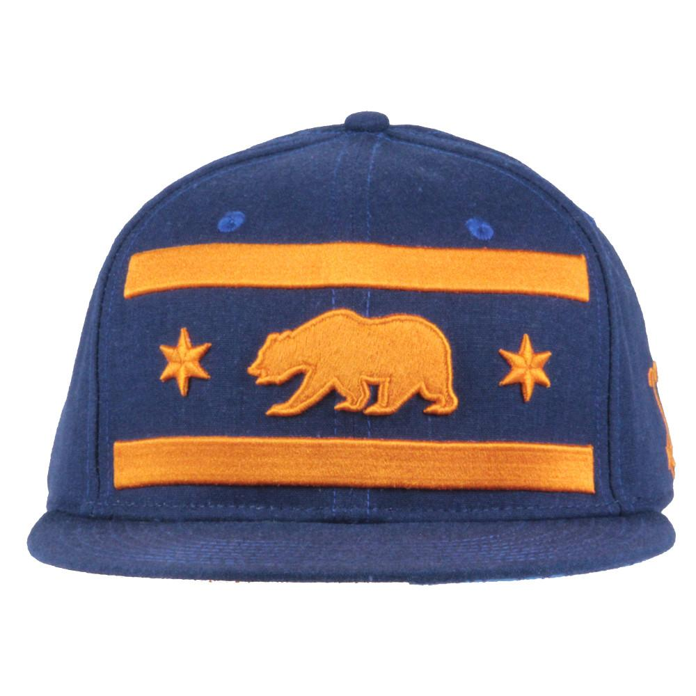 Chi Bears 2016 Navy Fitted - Grassroots California - 3