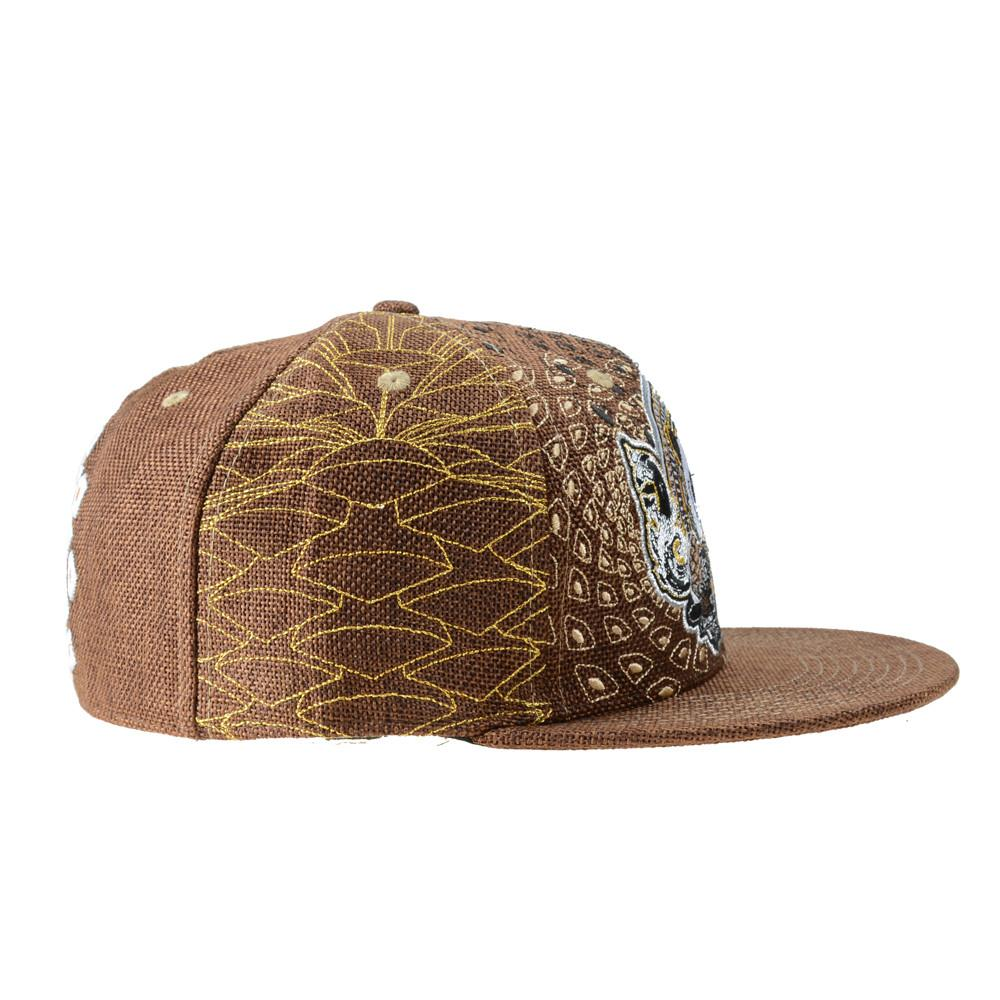 Third Eye Pinecone Panda Brown Fitted - Grassroots California - 2