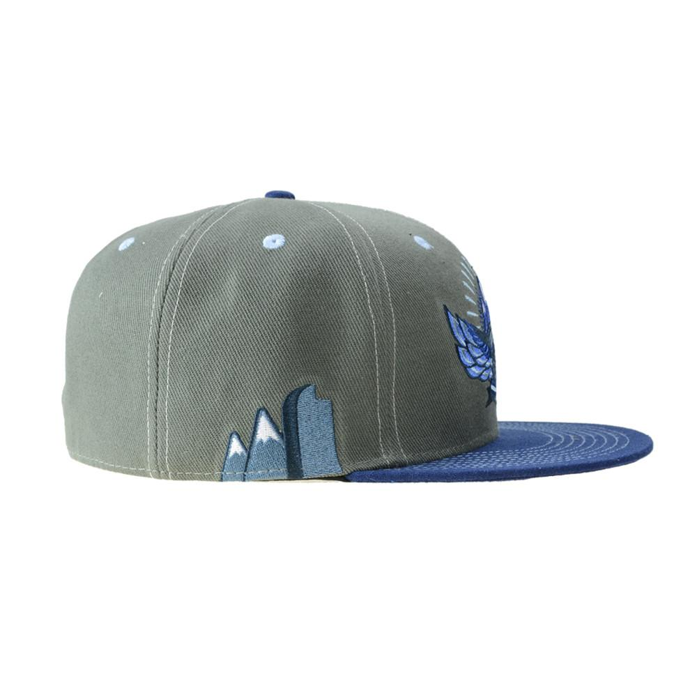 Rocky Mountain High Life Gray Fitted - Grassroots California - 2