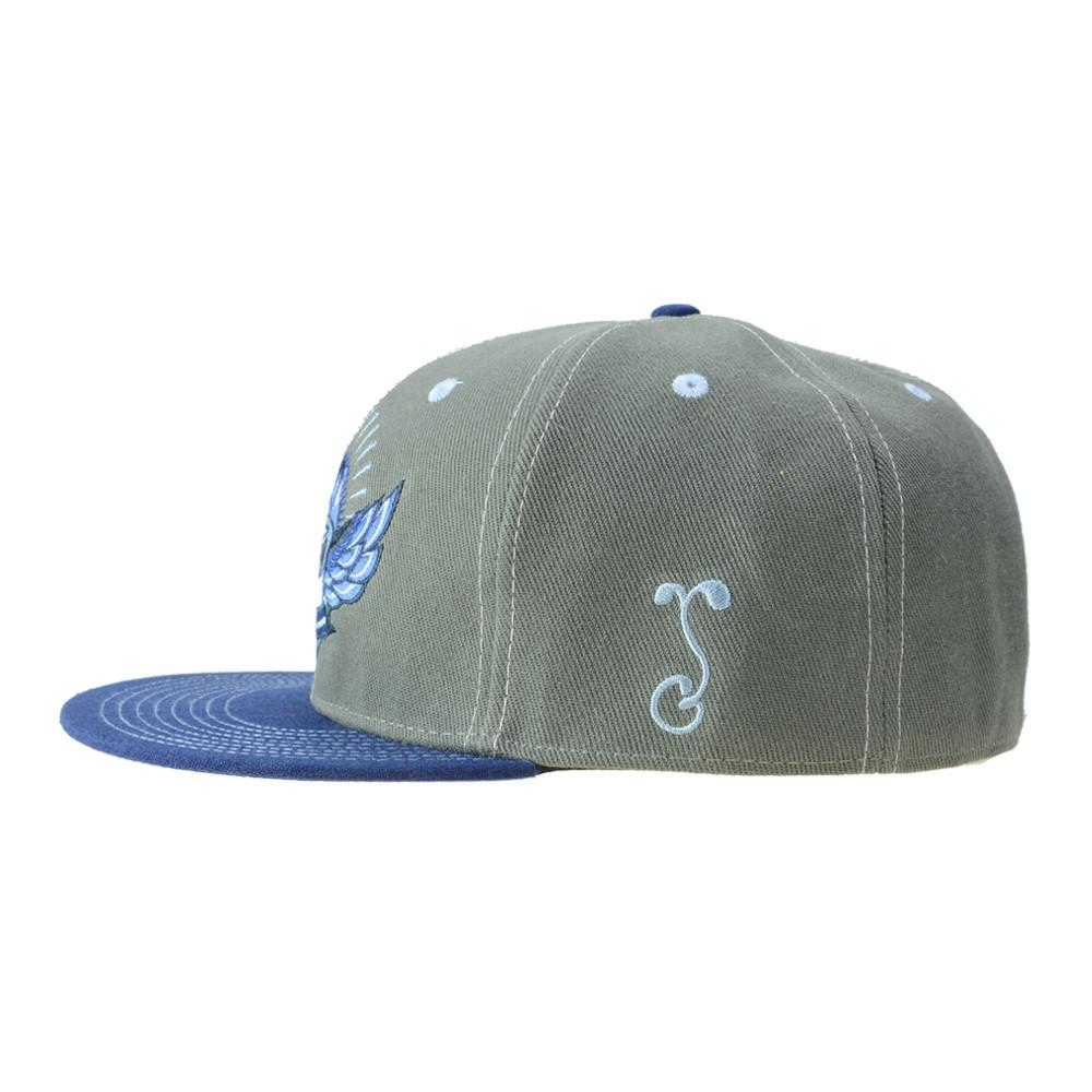 Rocky Mountain High Life Gray Fitted - Grassroots California - 3