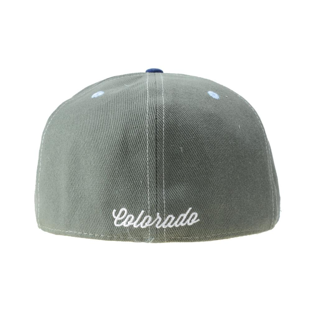 Rocky Mountain High Life Gray Fitted - Grassroots California - 4