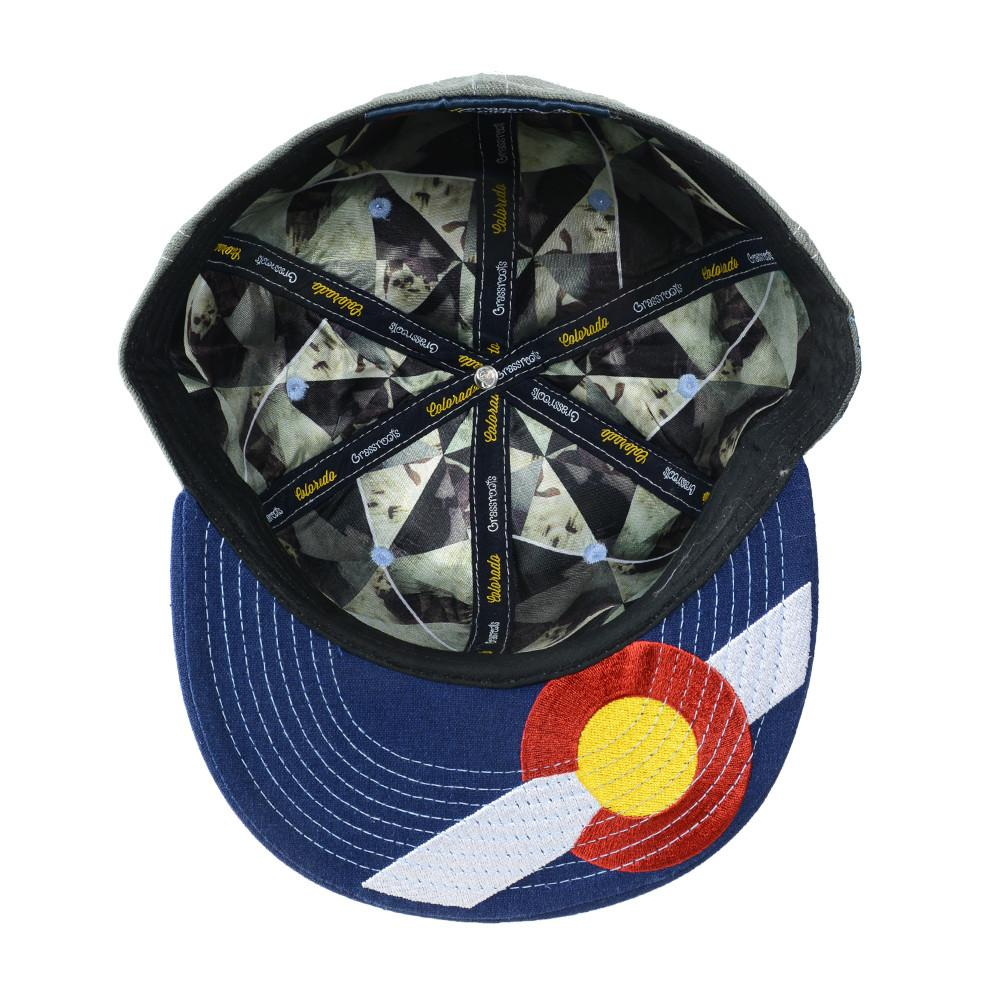 Rocky Mountain High Life Gray Fitted - Grassroots California - 5