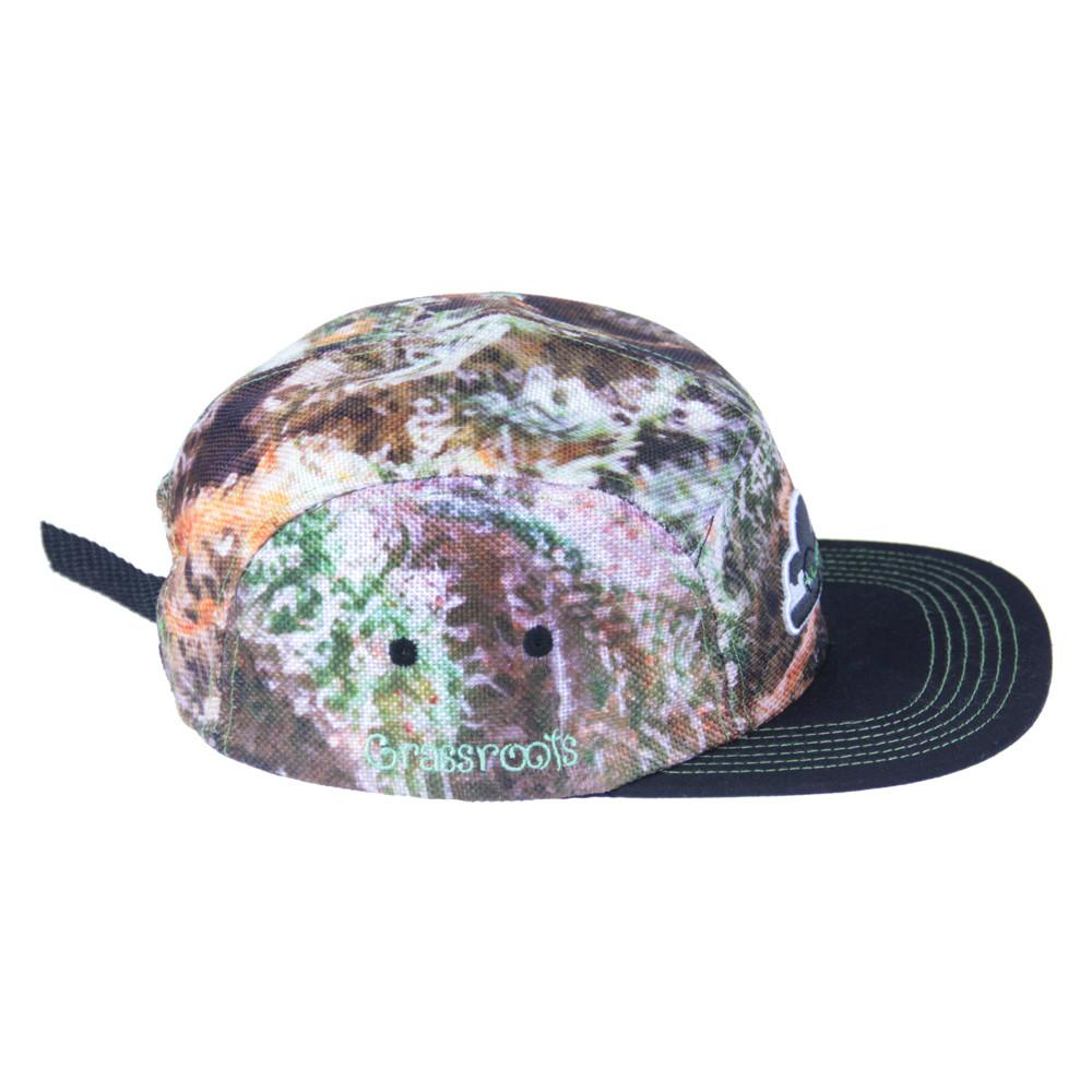 OG Kush 5 Panel Clipback - Grassroots California - 3