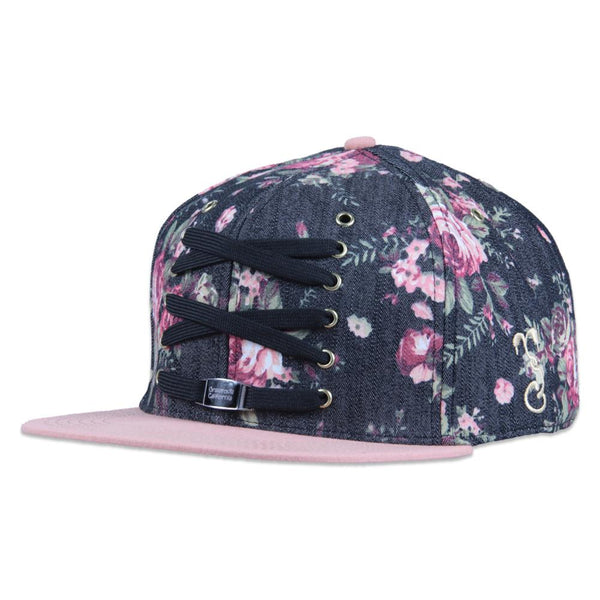 Lacer Floral Denim Snapback - Grassroots California - 1