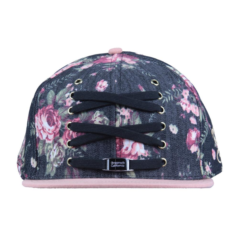 Lacer Floral Denim Snapback - Grassroots California - 3