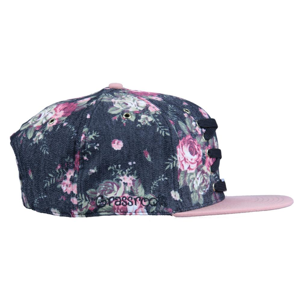 Lacer Floral Denim Snapback - Grassroots California - 4