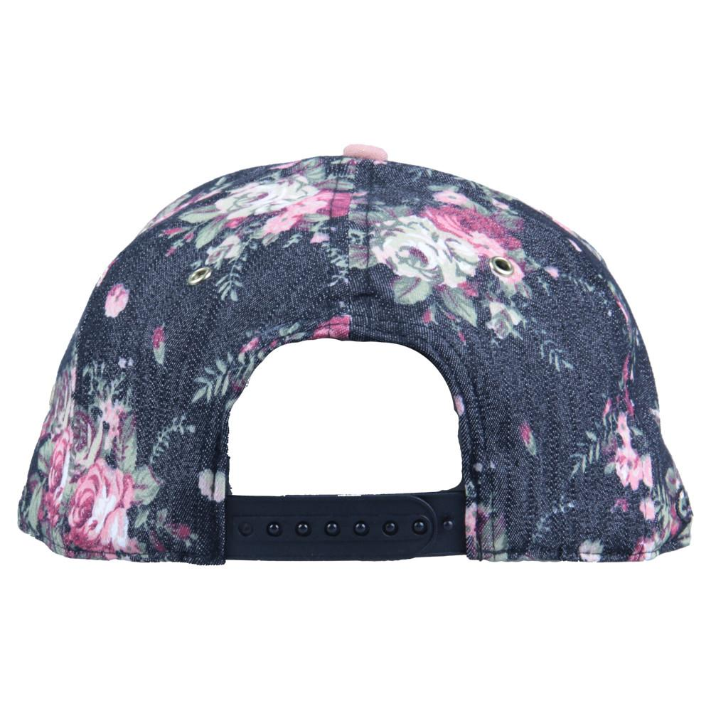 Lacer Floral Denim Snapback - Grassroots California - 5