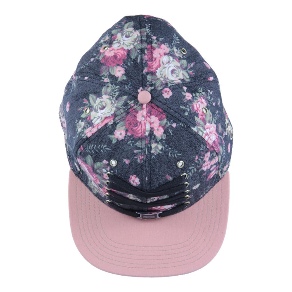 Lacer Floral Denim Snapback - Grassroots California - 6