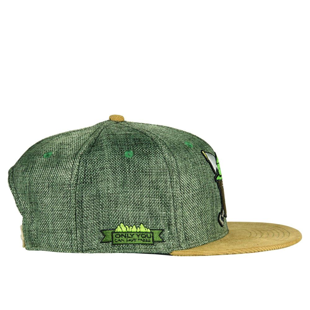 Puffy The Bear Olive Snapback