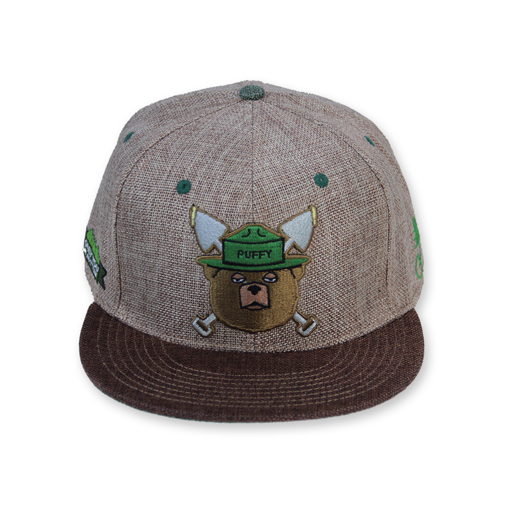 Puffy The Bear Brown Snapback