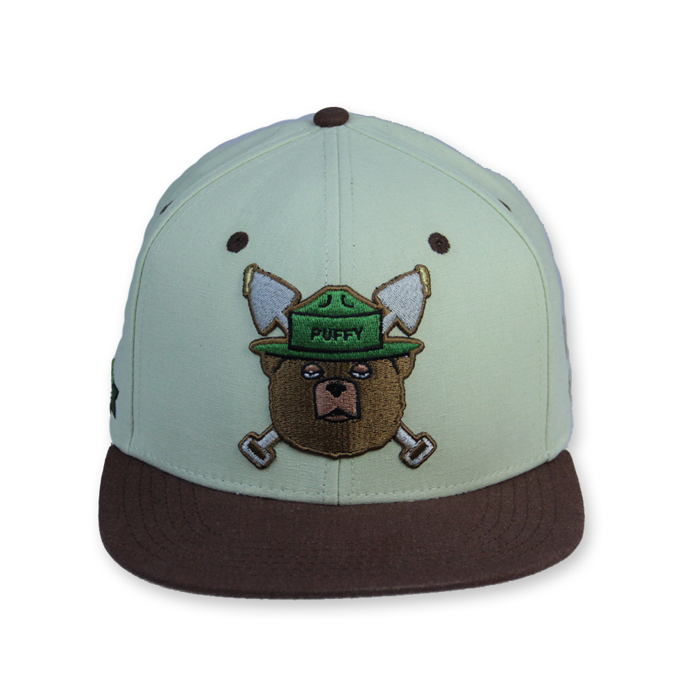 Puffy The Bear Tan Strapback - Grassroots California - 1