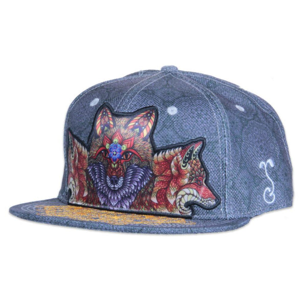 Phil Lewis Fox Snapback - Grassroots California - 1