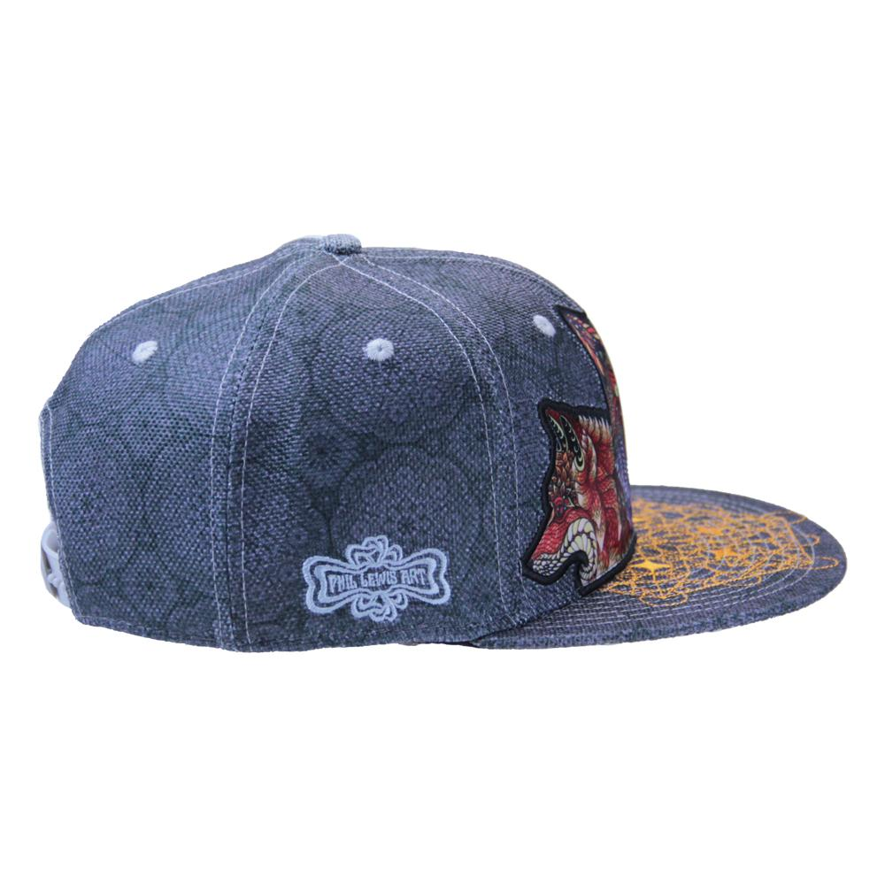 Phil Lewis Fox Snapback - Grassroots California - 4