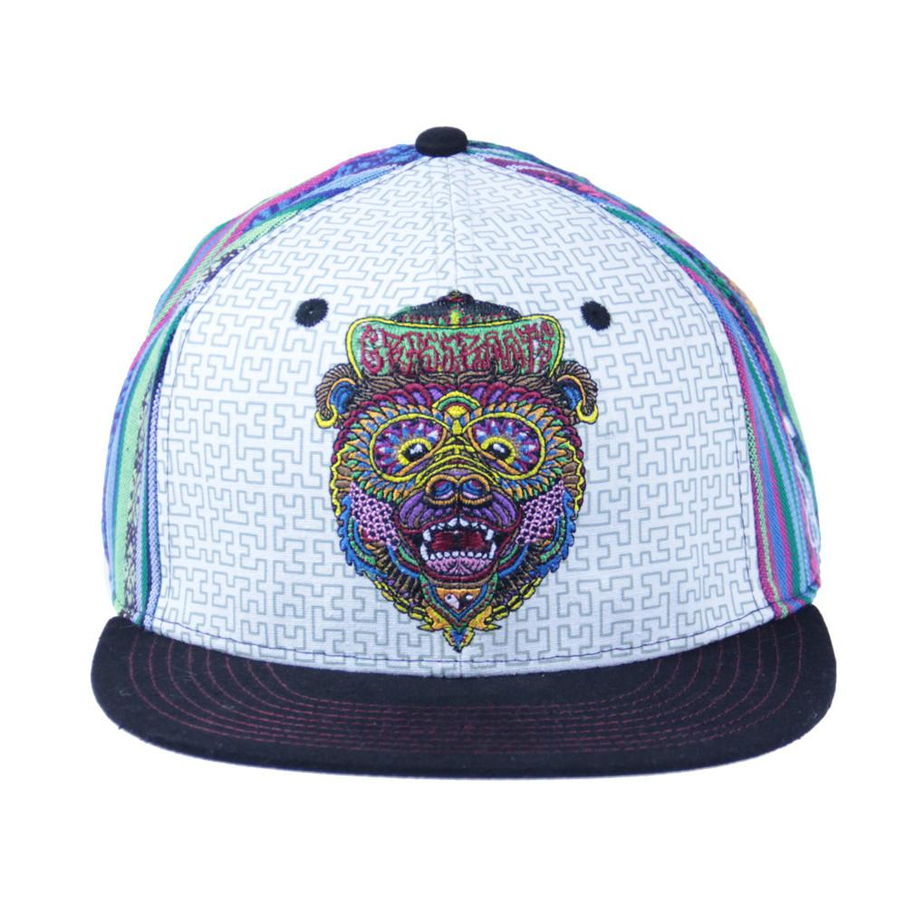 Chris Dyer Bear Blue Fitted - Grassroots California - 3
