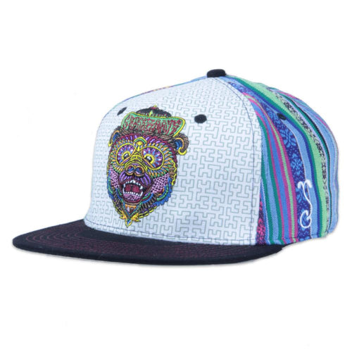 Chris Dyer Bear Blue Fitted - Grassroots California - 1