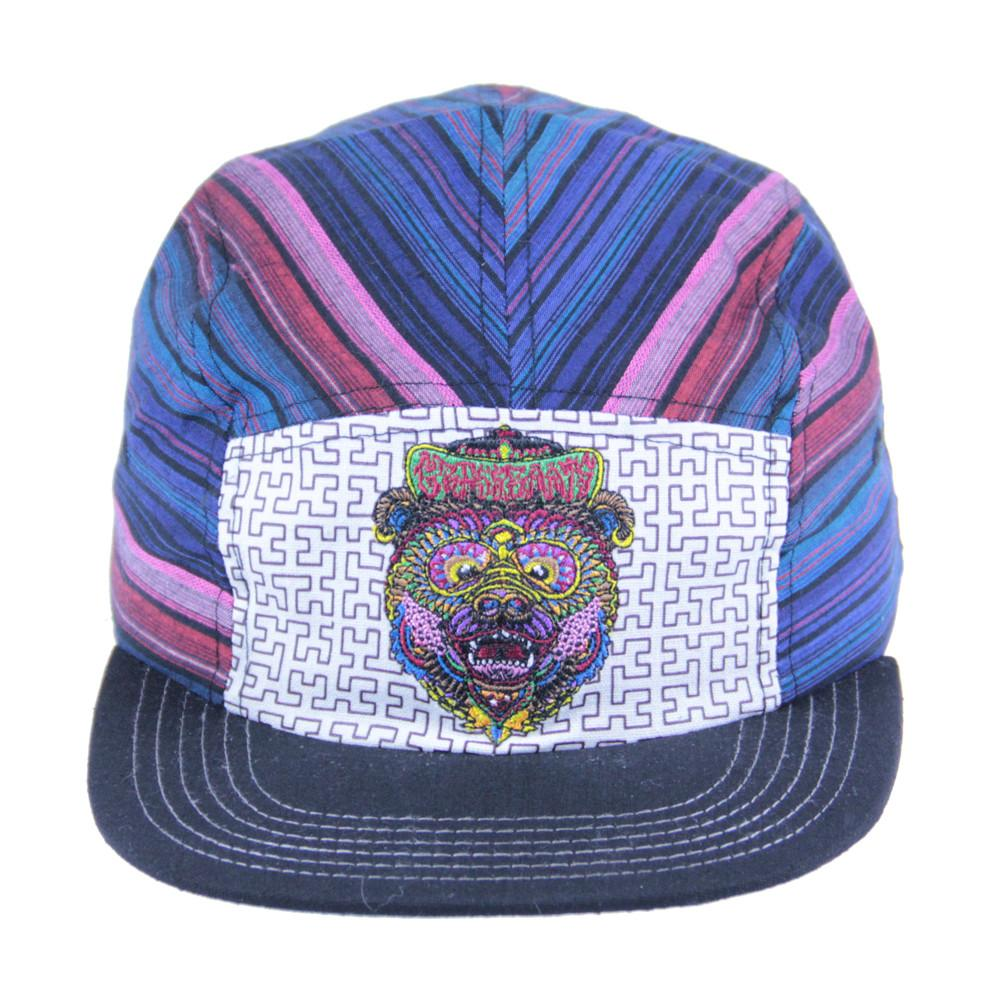 Chris Dyer Bear 5 Panel Strapback - Grassroots California - 3