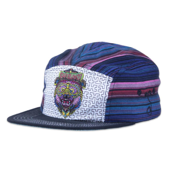 Chris Dyer Bear 5 Panel Strapback - Grassroots California - 1