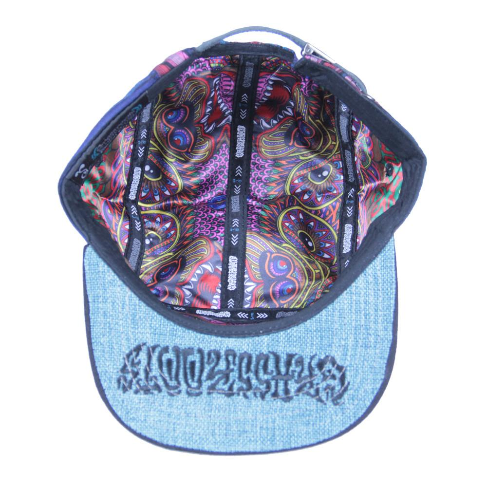 Chris Dyer Bear 5 Panel Strapback - Grassroots California - 2