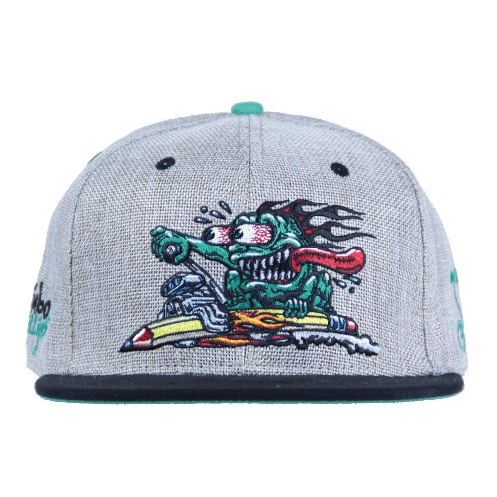 Jimbo Phillips Pencil Rider Snapback - Grassroots California - 3