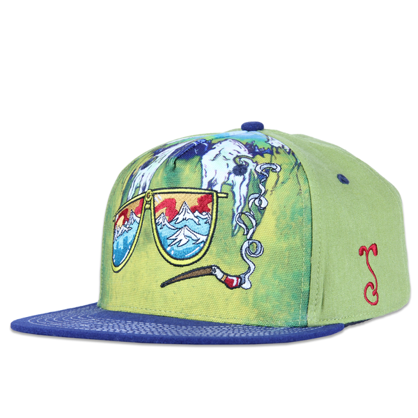 Vincent Gordon Fear and Loathing Shallow Snapback - Grassroots California - 1