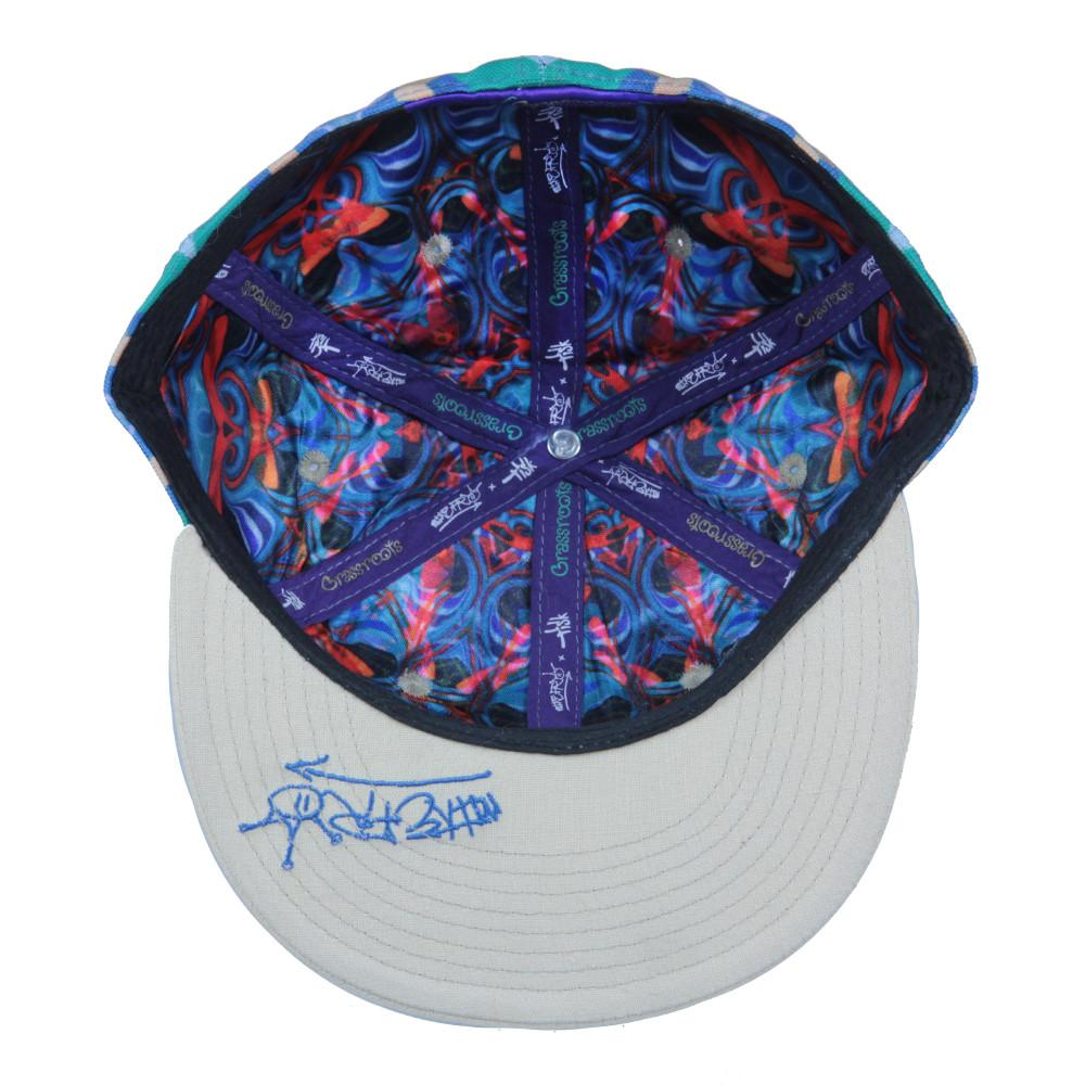 Mike Fro Multicolor Pattern Fitted - Grassroots California - 2