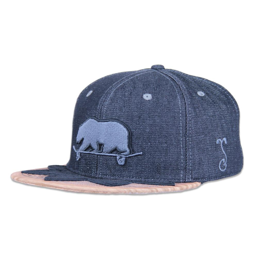 Skateboard Bear Grip Tape Wingtip Snapback