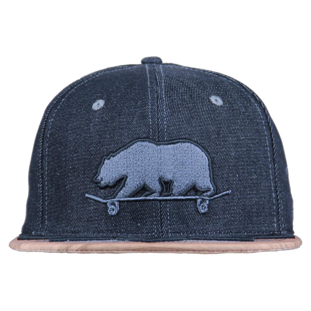 Skateboard Bear Grip Tape Wingtip Snapback - Grassroots California - 3
