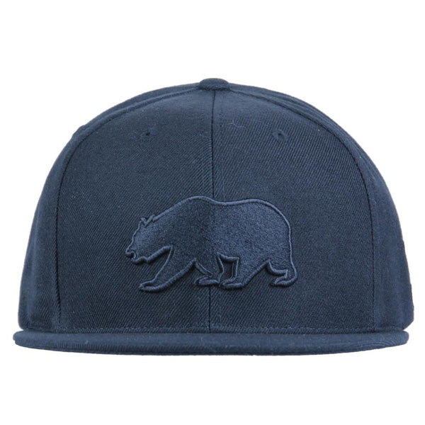 Classic Murdered Out Bear Snapback - Grassroots California - 3