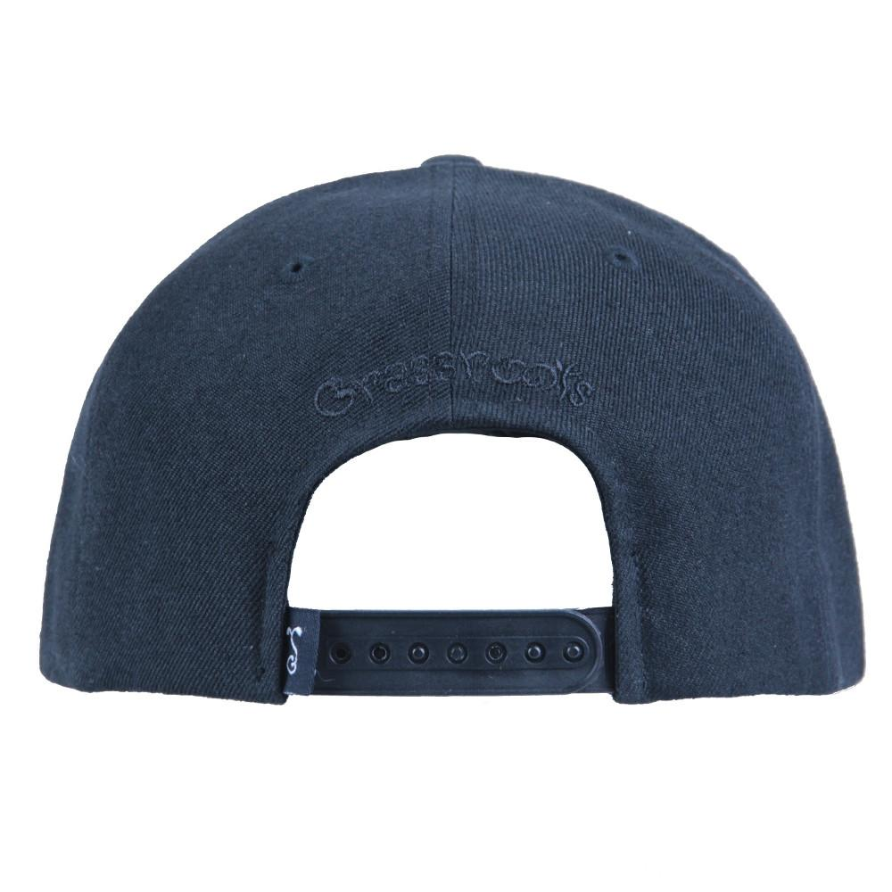Classic Murdered Out Bear Snapback - Grassroots California - 5