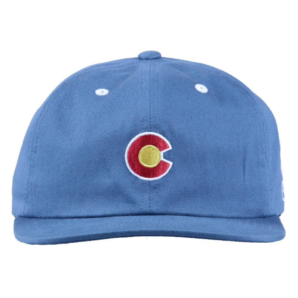 Navy CO Flag Dad Hat - Grassroots California - 3