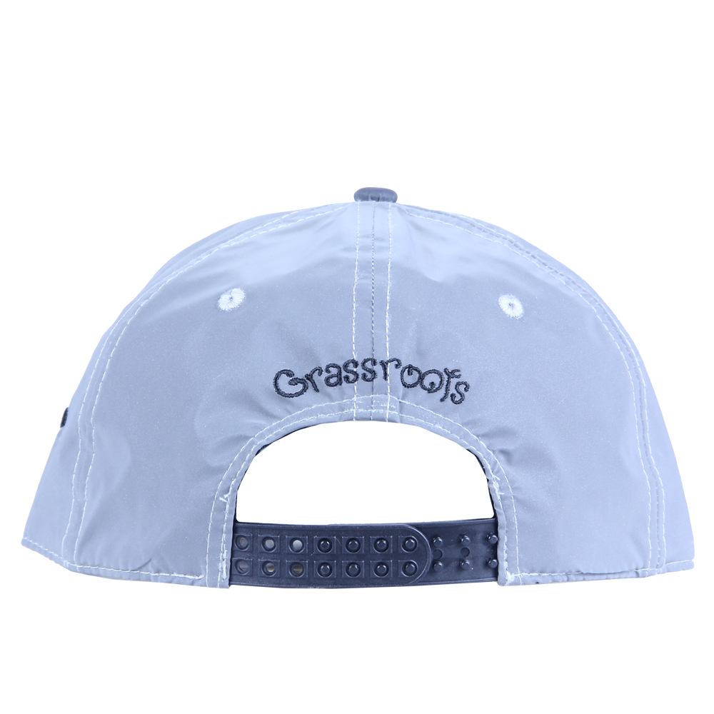 Removable Bear Reflective Snapback - Grassroots California - 4