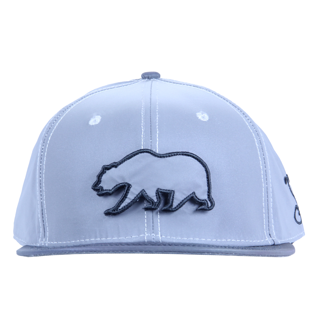 Removable Bear Reflective Snapback - Grassroots California - 6