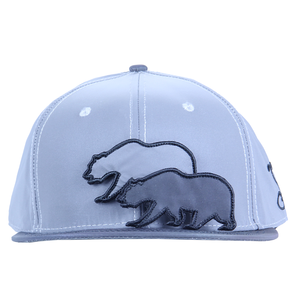 Removable Bear Reflective Snapback - Grassroots California - 7