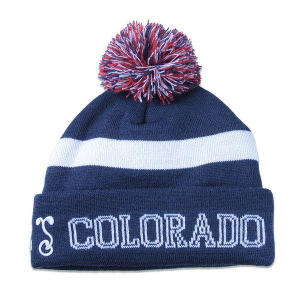College Colorado Flag Beanie - Grassroots California - 2
