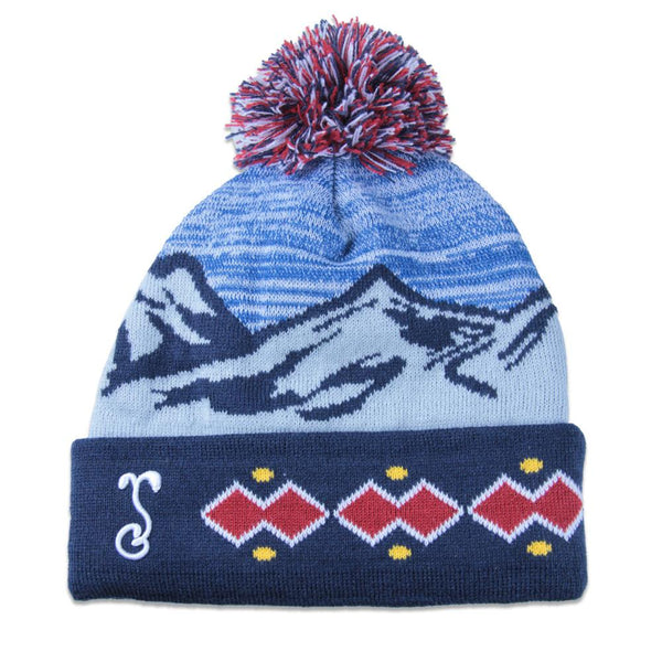 College Denver Flag Beanie - Grassroots California - 1