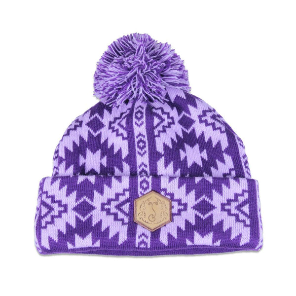 College Purple Colorado Native Beanie - Grassroots California - 1
