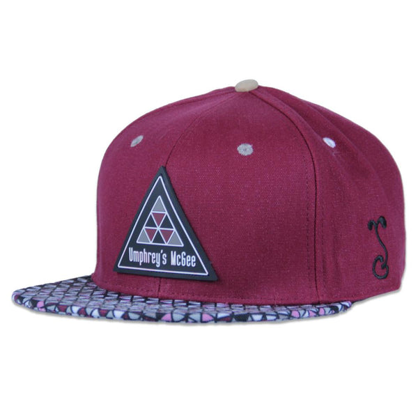 Umphreys McGee 2016 Maroon Fitted - Grassroots California - 1