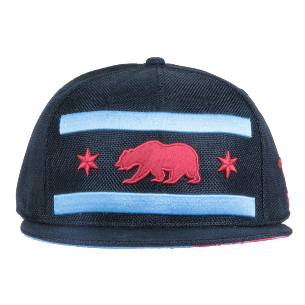 Chi Bear Black Hemp Fitted - Grassroots California - 3