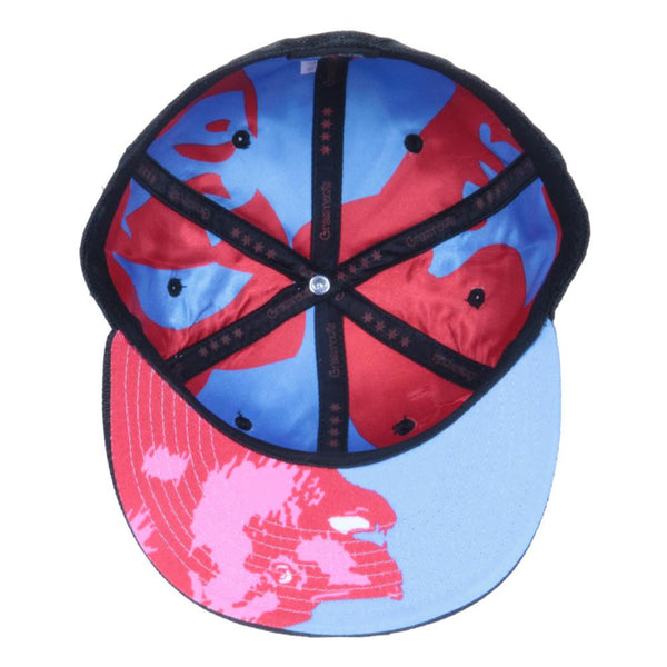 Chi Bear Black Hemp Fitted - Grassroots California - 2