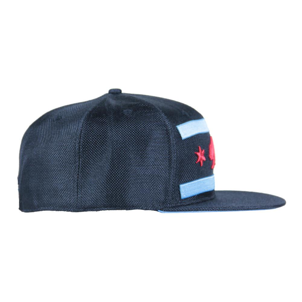 Chi Bear Black Hemp Fitted - Grassroots California - 4