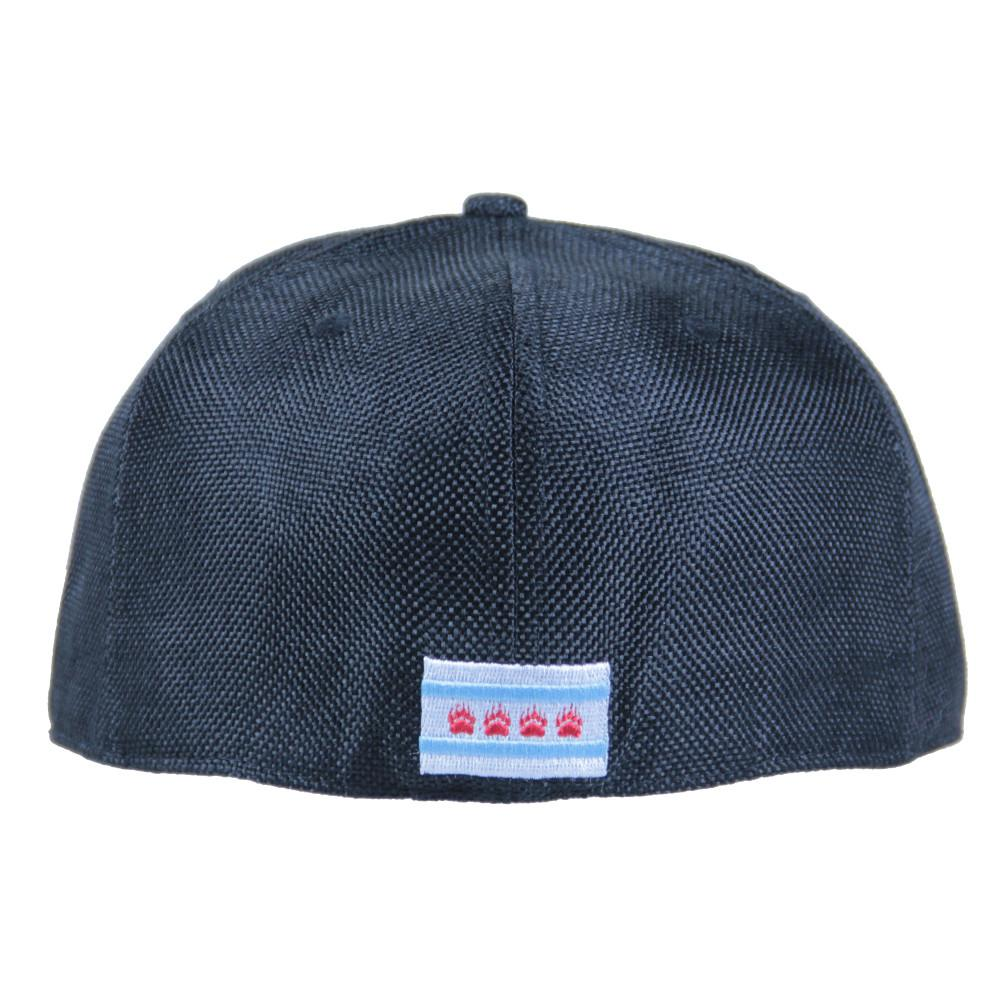 Chi Bear Black Hemp Fitted - Grassroots California - 5