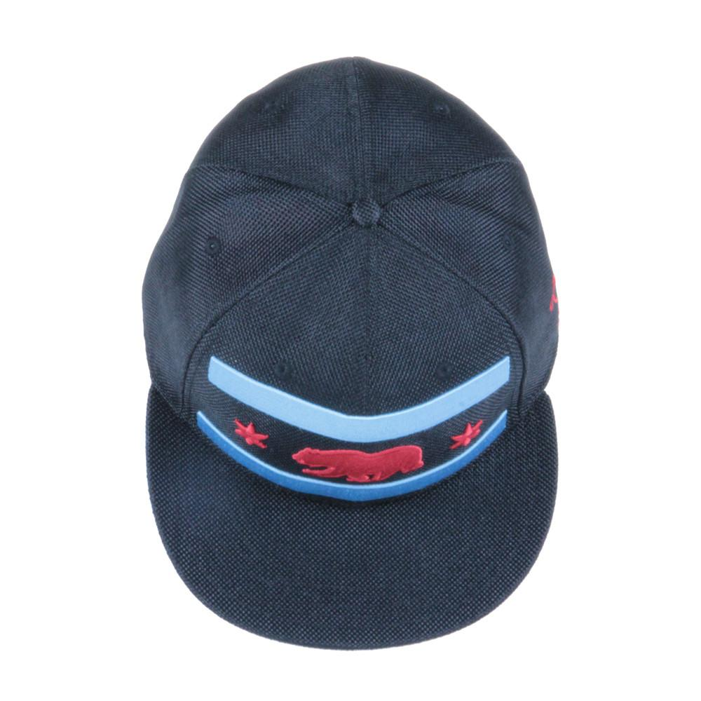 Chi Bear Black Hemp Fitted - Grassroots California - 6
