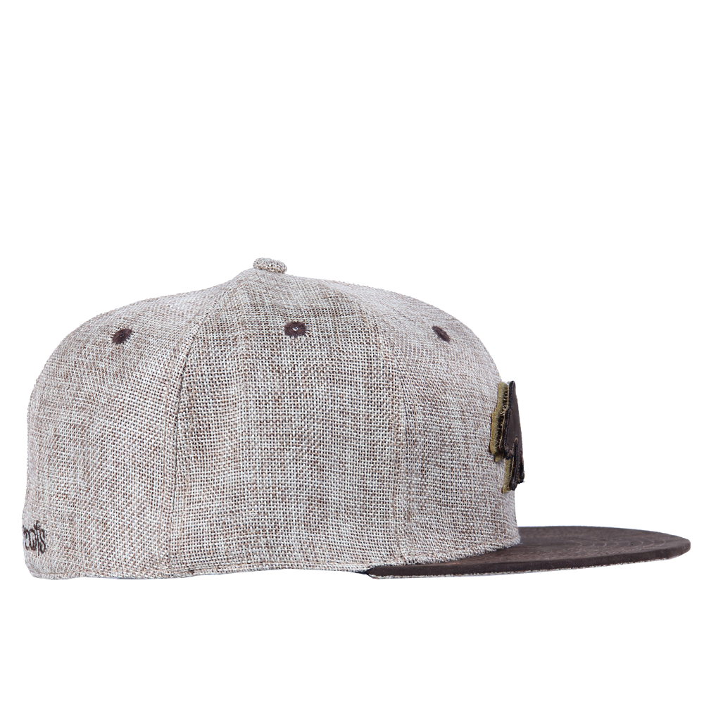 Removable Bear Tan Hemp Fitted - Grassroots California - 7
