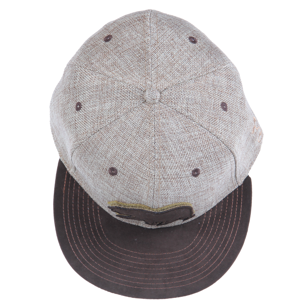 Removable Bear Tan Hemp Fitted - Grassroots California - 4