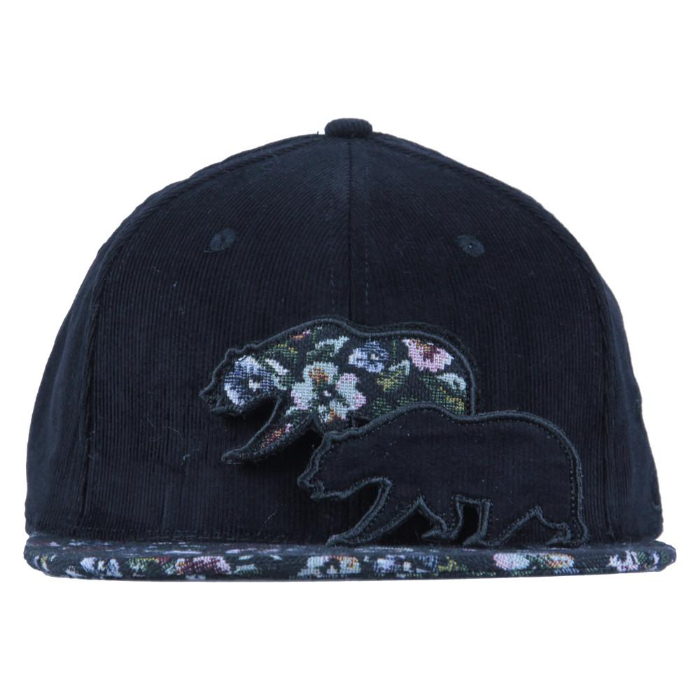 Removable Bear Floral Dog Strapback - Grassroots California - 2