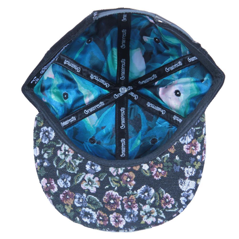 Removable Bear Floral Dog Strapback - Grassroots California - 3